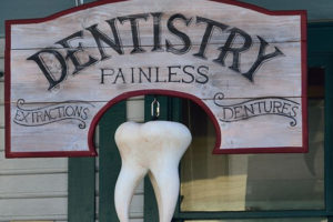 dentistry painless large tooth